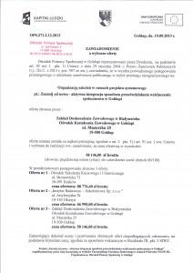 Zawiadomienie o wyborze oferty str.1