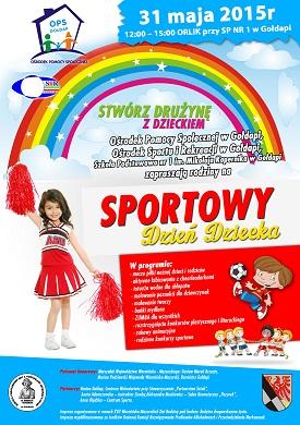 Sportowy Dzień Dziecka już wkrótce – 31 maja 2015r.