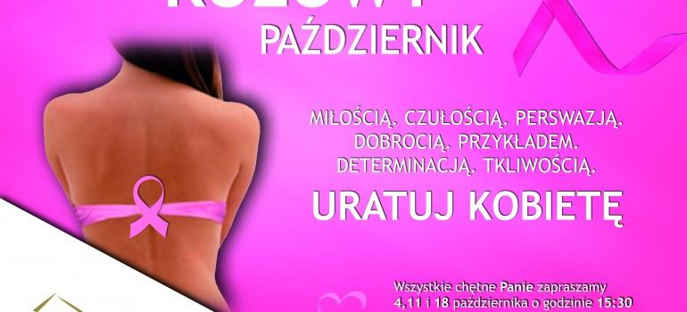 Różowy Październik w Gołdapi