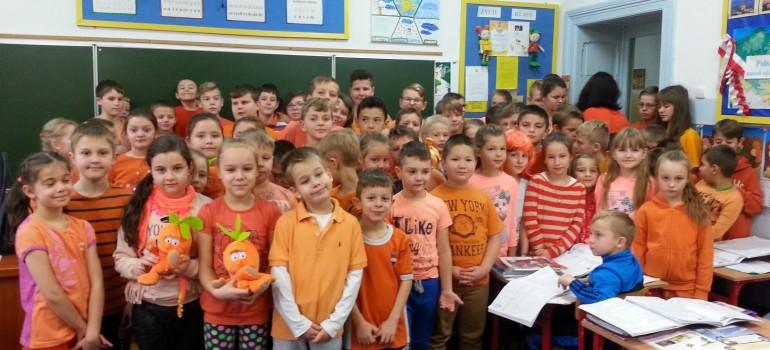 Kampania Pomarańczowej Wstążki w SP 1