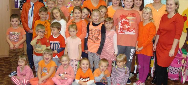 Kampania Pomarańczowej Wstążeczki – SP Jabłońskie