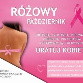 Różowy Październik 2017 – miesiąc świadomości raka piersi