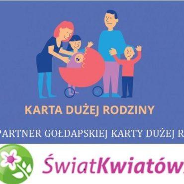 Nowy partner gołdapskiej Karty Dużej Rodziny